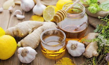 Boisson nettoyante (ail, citron, gingembre, miel)