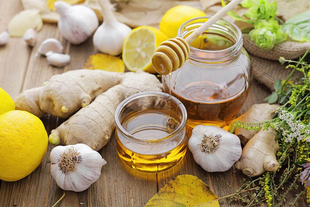 recette boisson hiver ail citron gingembre miel